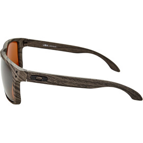 Oakley Holbrook XL Lunettes de soleil, woodgrain/prizm tungsten polarized